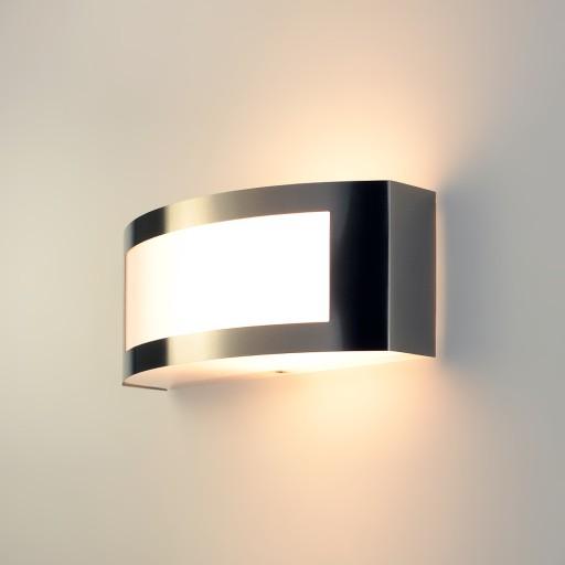 KINKIET ZEWNĘTRZNY LAMPA OGRODOWA ŚCIENNA LED E27
