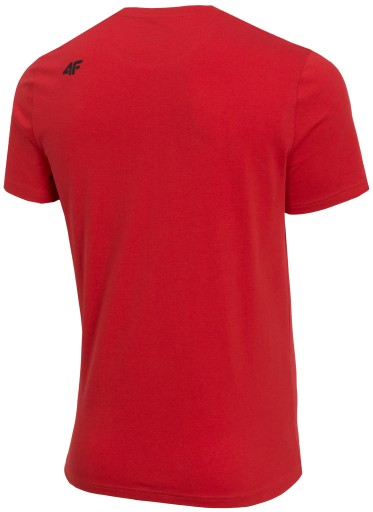 4F MĘSKA GŁADKA KOSZULKA T-SHIRT TSM070 Z19 # L 8351400823 Odzież Męska T-shirty TZ YTPRTZ-8