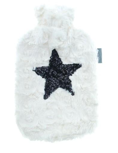 Fashy Termofor 2l w pluszowym pokrowcu z gwiazdą