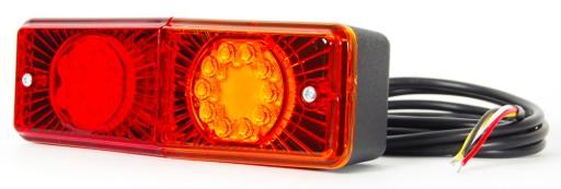 TAIL LIGHTS EXCAVATOR TRAVERSE FORKLIFT JCB 12/24V LED