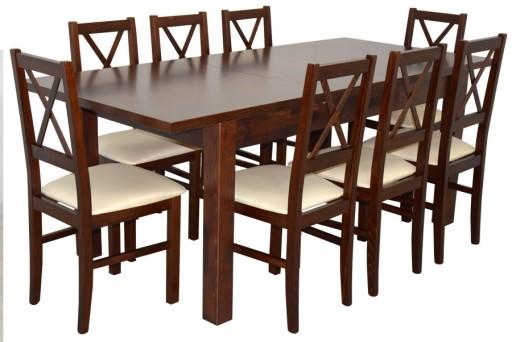 Zestaw Pokojowy Stół Z Krzesłami 8szt Tanie Meble