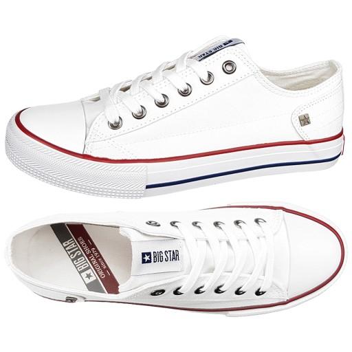 Trampki Big Star damskie białe DD274336 buty 36
