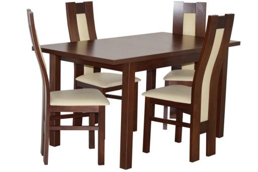 Na Magazynie Zestaw Pokojowy Stół I 4 Krzesła Tani