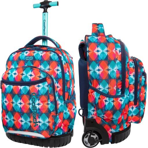 Duzy Plecak Na Kolkach Coolpack Dla Dziewczyny 9207371874 Allegro Pl