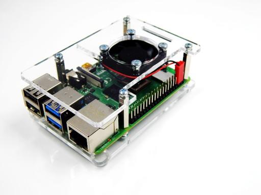 Obudowa Do Raspberry Pi 4b 3b 3b 2b Wentylator Sklep Komputerowy Allegro Pl