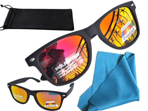 Okulary Przeciwsloneczne Polaryzacyjne Lustrzanki 6785299602 Allegro Pl