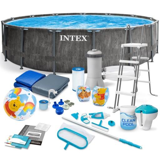Basen Ogrodowy Stelazowy Intex 457x122 Zestaw 21w1 8903498093 Allegro Pl