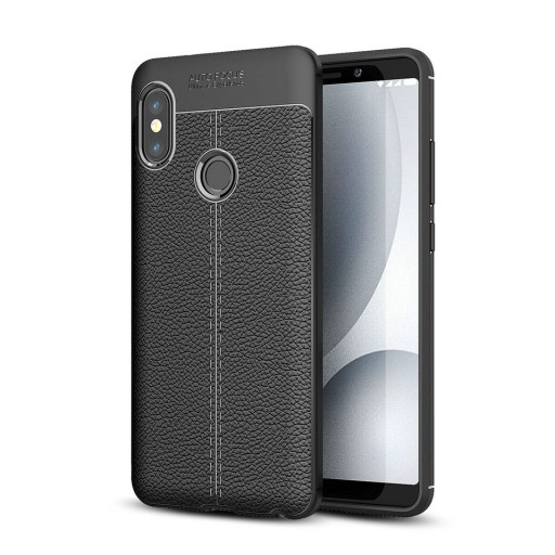 low priced fa1c0 a274c Etui Ipaky Leather Case Xiaomi Redmi Note 5 Czarne