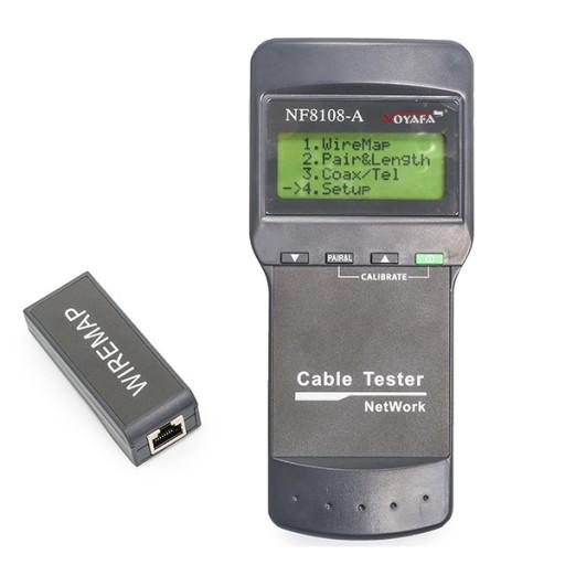 Tester sieci Noyafa NF-8108A LCD + GRATIS