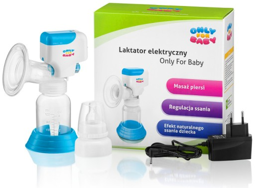 LAKTATOR ELEKTRYCZNY Only for Baby + AKCESORIA