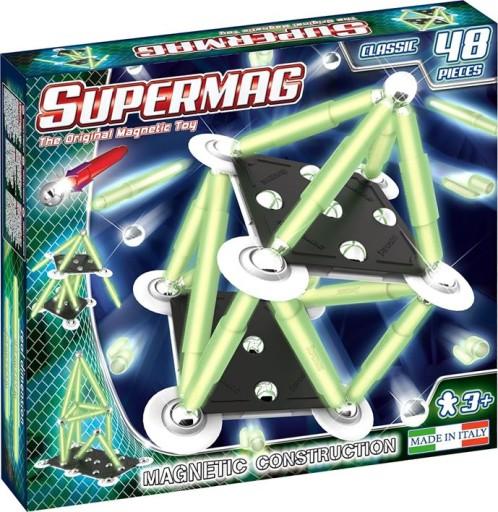 Klocki Magnetyczne Supermag Classic Swieca 48 El 8491174839 Allegro Pl