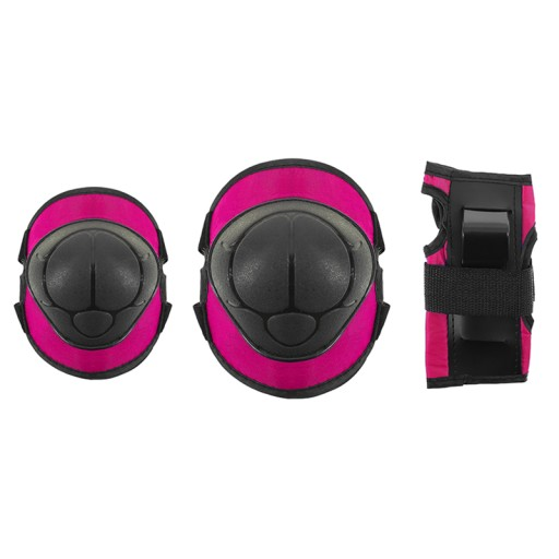 Zestaw H110 Ochraniacze na rolki rower r. S pink