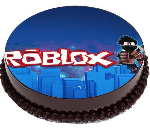 Oplatek Na Tort 8 Roblox Gra Robux 20cm 8249549565 Allegro Pl