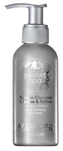 avon PŁYN do mycia twarzy z AKTYWNYM WĘGLEM 150 ml