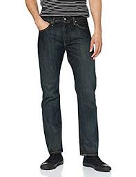 Levi's Spodnie Jeans FIT Coupe-Droite Bleu W32/L34 8481560346 Odzież Męska Spodnie BJ AEEVBJ-9