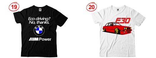 KOSZULKA BMW E30 E36 E46 E38 E39 E60 NA PREZENT 7429227016 Odzież Męska T-shirty HU KSDCHU-2