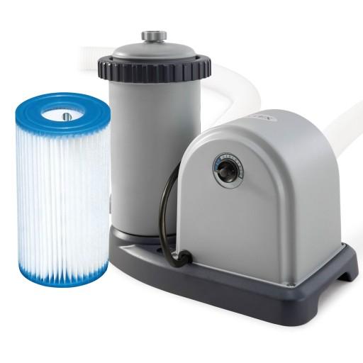 Pompa Filtrujaca 5678 L H Filtr Basen Intex 28636 8359647426 Allegro Pl