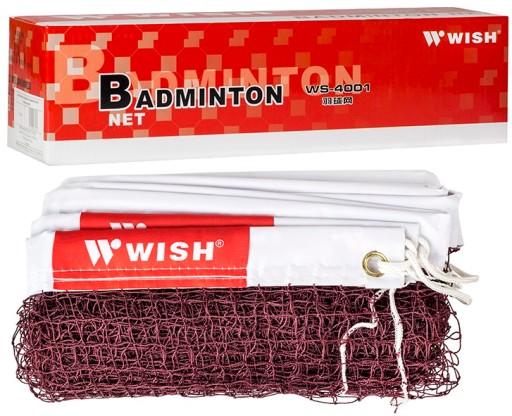 WISH Profesjonalna Siatka Do Badmintona Nylon 6m