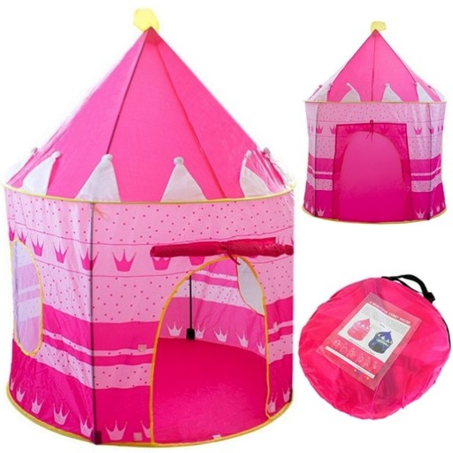 Namiot PAŁAC ZAMEK DOMEK dla DZIECI do Domu Ogrodu