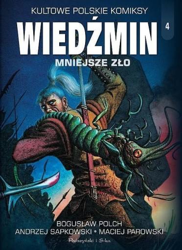 Wiedźmin Mniejsze Zło - Polch, Sapkowski, Parowski