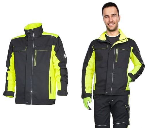 96840f21 Ardon Neon Bluza Robocza Professional Seledyn XXXL
