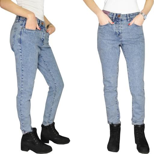 spodnie jeansowe damskie next