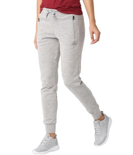 spodnie dresowe bawełniane damskie adidas ze ściągaczami