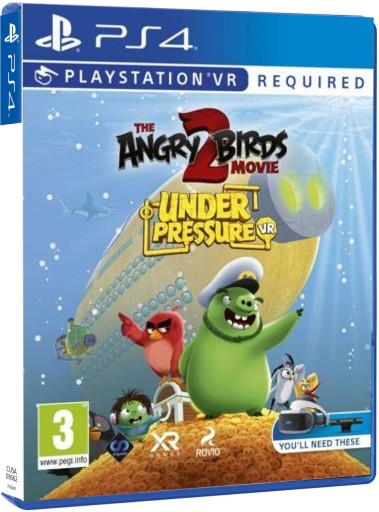 Angry Birds The Movie 2 Vr Ps4 Zrecznosciowa Stan Nowy 8400151443 Allegro Pl