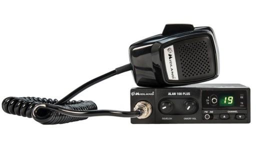 CB Radio Alan 100 Plus Midland PL AM FM SQ