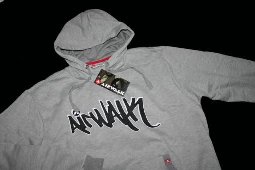 AIRWALK USA SKATE bluza kaptur kangurka XL -65%