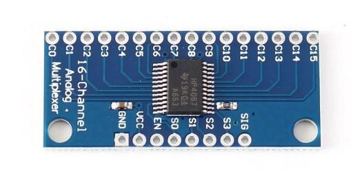 16-kanałowy analogowy multiplexer HC4067