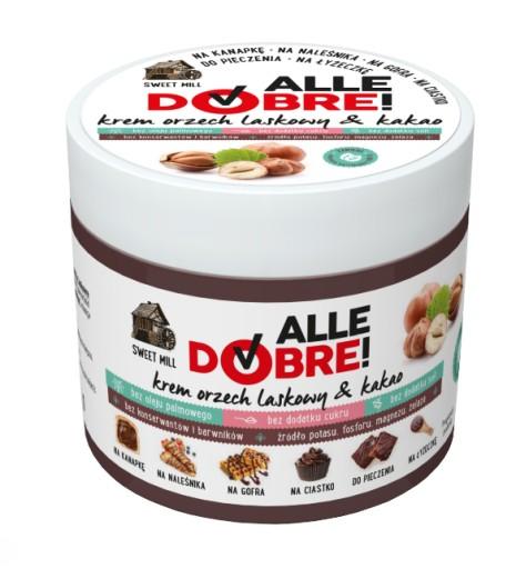 AlleDobre! krem orzechowo kakaowy 250g