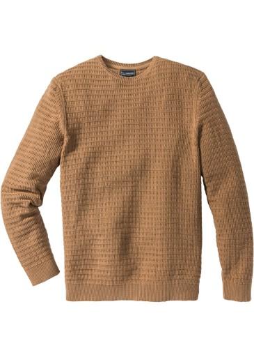 BONPRIX Sweter Regular-Fit r. 48/50 ( M ) BPC 9794114866 Odzież Męska Swetry XL SZAVXL-7