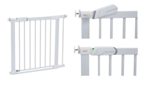 Safety FLAT STEP bramka z płaskim progiem METALOWA