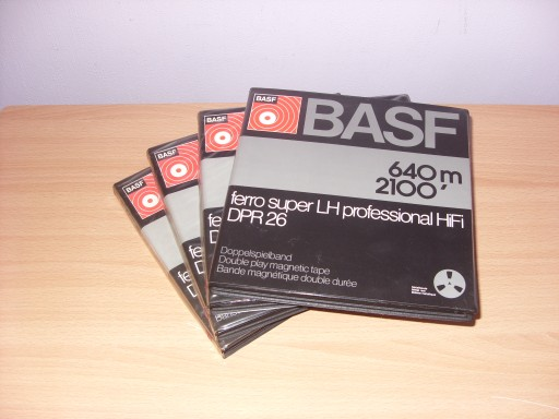 TASMY SZPULOWE BASF ALU FER. SUP. LH PROF.18 X 4
