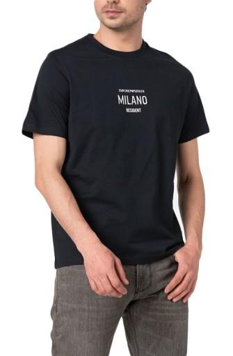 Emporio Armani koszulka T-Shirt NOWOŚĆ roz: XXL 10720462701 Odzież Męska T-shirty ET OBRSET-4