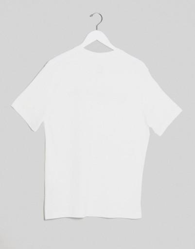 NIKE PRO T-SHIRT BIAŁY LOGO KLASYCZNY MĘSKI M 1AEG 10788999447 Odzież Męska T-shirty VI GZOSVI-2
