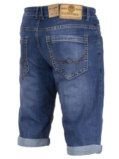 KrÓtkie Spodnie Spodenki W:39 104 CM ST6202 jeans 9194998300 Odzież Męska Spodenki IU JCGQIU-8
