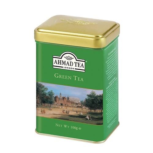 Ahmad Tea Herbata Zielona Lisciasta 100g Puszka 9753922861 Allegro Pl