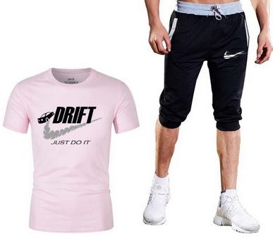 Super Męski Komplet Spodenki Drift + Koszulka XL 9547429151 Odzież Męska Komplety QD HLTVQD-4