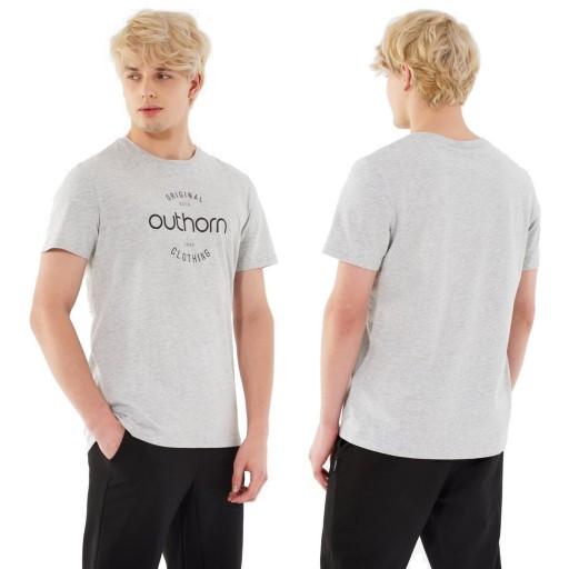 OUTHORN/4F T-SHIRT MĘSKI SPORTOWY TSM600A L # 10243463042 Odzież Męska T-shirty KZ UAKIKZ-7