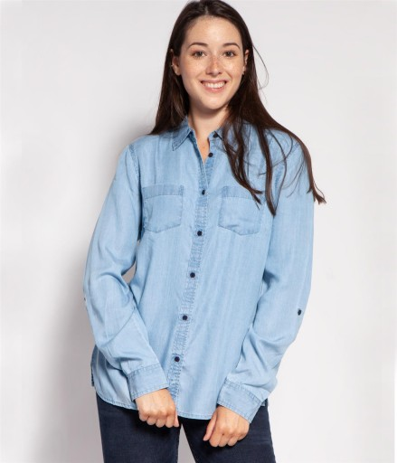 Lee Cooper Koszula damska DEMI 6006 BLUE XL