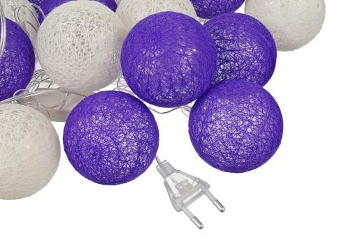 Cotton Balls Swiecace Lampion Kule Led 20 Kul 230v 7032107085 Allegro Pl