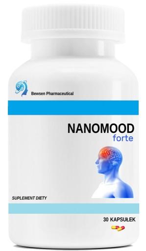 Nanomood Forte - Depresja, Stres, Pewność siebie