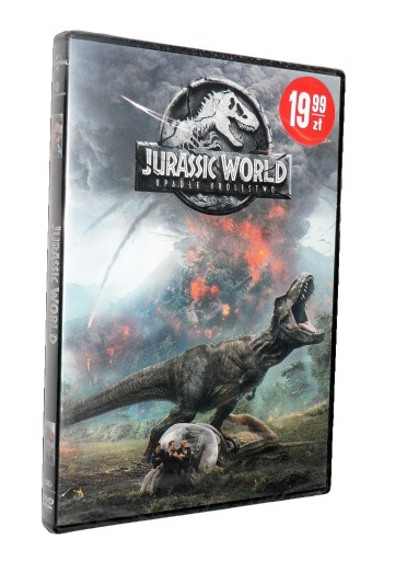 DVD - JURASSIC WORLD: UPADŁE KRÓLESTWO - folia