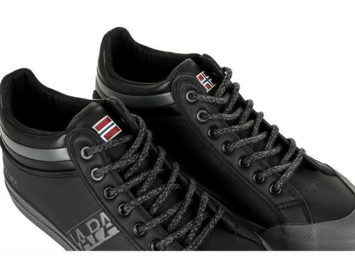 Sneakersy Napapijri Trick Black NA4DWR-041 45 9704646086 Obuwie Męskie Męskie DR QCCODR-2