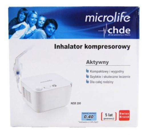 Microlife NEB200 Inhalator Kompaktowy Nebulizator