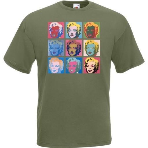 Koszulka z nadrukiem Marilyn gwiazda prezent L 10517152749 Odzież Męska T-shirty CU YQPQCU-6