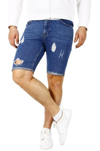Lee Rider Męskie Spodenki Szorty Jeans W29 10603206189 Odzież Męska Spodenki VR VYEHVR-4