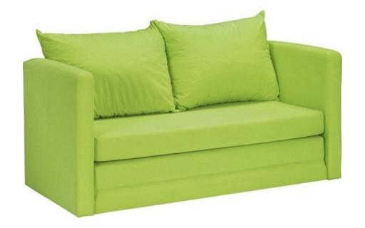 Zielona sofa dla dziecka z funkcją spania CELESTE